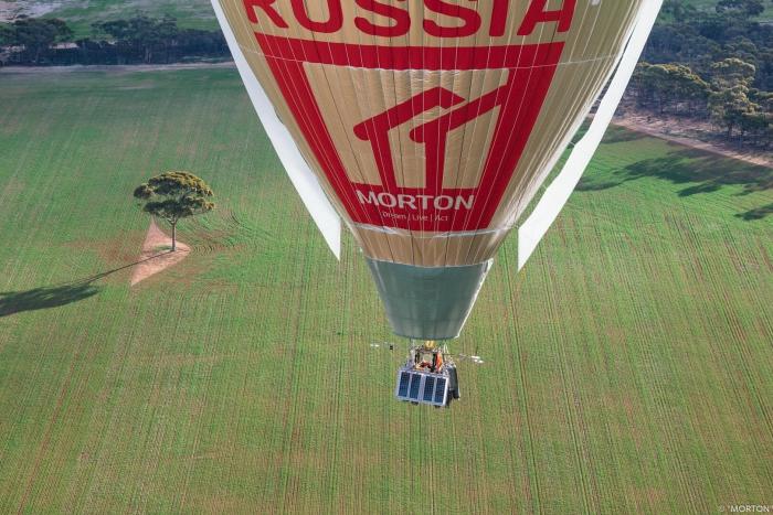 Российский шар «Мортон» поставил рекорд перелета вокруг Земли