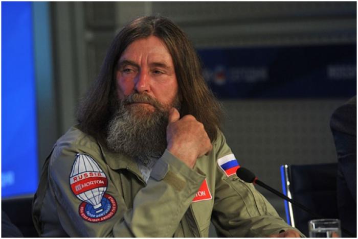 Сайт кругосветного полёта Фёдора Конюхова на воздушном шаре